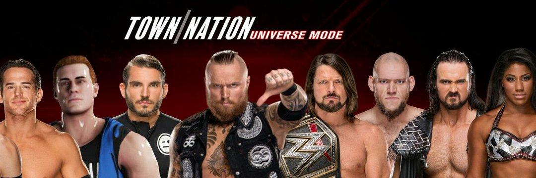 TownNation Universe Mode: Slammy Awards, draft, WWE 2K19 and